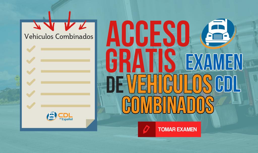 examen de vehiculos combinados cdl gratis
