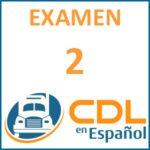 examen de manejo cdl espanol 2